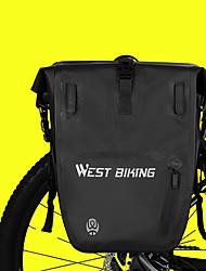cheap -25 L Bike Panniers Bag Waterproof Portable Durable Bike Bag TPU Nylon Bicycle Bag Cycle Bag Outdoor Exercise Bike / Bicycle