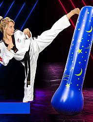 cheap -Punching Bag For Taekwondo Martial Arts Kick Boxing Leak-Proof Explosion-Proof Non Toxic PVC Kid's Adults' Blue
