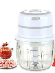 cheap -Kitchen Tools Electric Garlic Masher Mini Crusher Chopper USB Charging Food Processor Garlic Minced Meat Kitchen Accessories