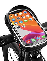 cheap -/ Bike Frame Bag Top Tube Reflective Waterproof Portable Bike Bag PU(Polyurethane) Bicycle Bag Cycle Bag Outdoor Exercise Bike / Bicycle