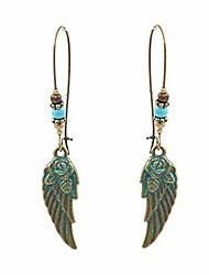 cheap -tianhongyan vintage unique bohemian earrings retro ethnic hollow metal leaf statement drop dangle earring for women girls jewelry accessories (style-3)