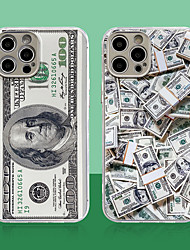 cheap -Phone Case For Apple Back Cover iPhone 12 iPhone 12 Pro Max iPhone 12 Pro Shockproof Dustproof Plating Graphic TPU