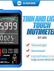 cheap -Sunshine DT-20N Profesional Digitale Multimeter Met Auto Ac/Dc Voltage Meter Grote Touch Screen Tester Meter