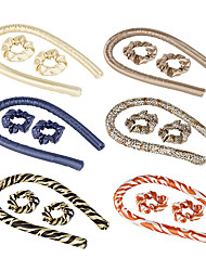cheap -Lazy Curling Stick EVA Foam Sponge Curling Iron Hairdressing Roller Hair Ring Sleep No Heat Curling Stick