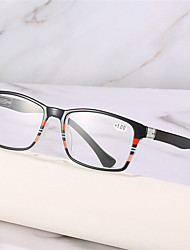 cheap -Fashion Reading Glasses For Men And Women PC Spring Leg Reading Glasses Middle-aged And Elderly High-definition Reading Glasses