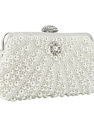 cheap -caiyue ladies beaded embroidered evening dress bag hand holding imitation pearl banquet dress cheongsam bag annual meeting bag bridal bag b101
