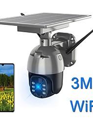 cheap -Solar wifi camera 2mp 1536p 1080p waterproof ptz camera outdoor 4g 3g lte wireless remote control color night vision