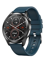 cheap -SMA E10 Smartwatch Fitness Running Watch Bluetooth ECG+PPG Pedometer Sleep Tracker Long Standby Camera Control Custom Watch Face IP68 44mm Watch Case for Android iOS Men Women