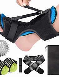 cheap -Upgraded Blue Night Splint for Plantar Fascitis Multi Adjustable Ankle Brace Foot Drop Orthotic Brace for Plantar Fasciitis Arch Foot Pain Achilles Tendonitis Support for Women Men