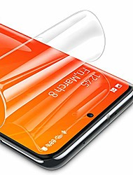 cheap -Phone Screen Protector For SAMSUNG S21 S21 Plus S21 Ultra S20 S20 Plus Hydrogel Film 3 pcs High Definition (HD) Scratch Proof Front Screen Protector Phone Accessory