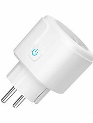 cheap -WiFi Smart Plug 16A EU US Socket Tuya Smart Life APP Work with Alexa Google Home Assistant Voice Control Power Monitor Timing