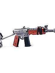 cheap -longhe games 1/6 metal assault rifle burst gun model action figure arts toys collection keychain gift