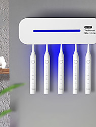 cheap -The New Uv Smart Ultraviolet Toothbrush Sterilizer Sterilization And Disinfection Wall-mounted Rechargeable Toothbrush Holder