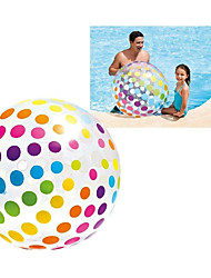 """cheap -Jumbo Inflatable 42"""" Giant Beach Ball - Crystal Clear with Translucent Dots, 1 Pack"""
