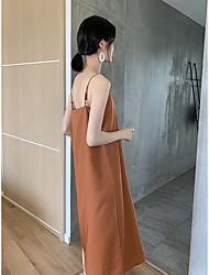 cheap -chiffon sling dress women's summer 2020 new inner wear loose mid-length large size fat mm chiffon bottoming skirt