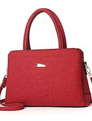 cheap -Women's Bags Top Handle Bag Daily Office & Career 2021 Handbags Wine Black Red Blushing Pink