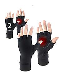 cheap -donfri 2 pairs copper arthritis gloves fingerless gloves compression gloves for rheumatoid & osteoarthritis hand gloves provide arthritic joint pain symptom relief - ease muscle tension men & women