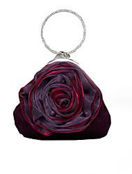 cheap -caiyue a34 glitter diamond mobile phone bag, rose flower hand bag, lady bridesmaid banquet bag wholesale