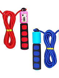 cheap -Jump Rope for Kid's Adjustable Automatic Counting Jump Ropes Kids Fitness Equipment with Foam Handles for Kids Children Students Training and Weight Loss