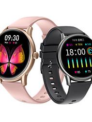 cheap -KING-WEAR® KW06pro Smartwatch Fitness Running Watch Bluetooth Pedometer Sleep Tracker Sedentary Reminder Custom Watch Face IP68 for Android iOS Men Women / Heart Rate Sensor / >480