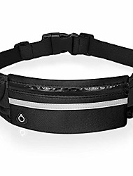 cheap -running belt waist bag-waterproof running belt waist bag suitable for hiking and fitness-adjustable running bag, suitable for all types of mobile phones iphone android windows (black)