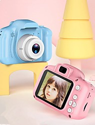 cheap -Mini Children Camera  Digital Camera Toys for Kids 2 Inch HD Screen Chargable Photography Props Cute Baby Child Birthday Gift Outdoor Game Christmas Gift
