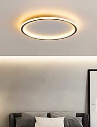 cheap -LED Ceiling Light 40/50 cm Circle Design Flush Mount Lights Copper Metal Basic Brass LED Nordic Style 220-240V