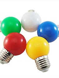 cheap -LED Globe Bulbs 10pcs 0.8 W 30 lm E27 G45 8 LED Beads Dip LED Decorative White Red Blue 110-240 V