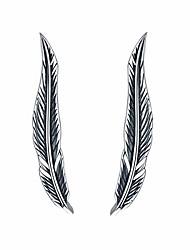 cheap -farrydream platinum plated big dipper crawler earrings cuff for women star climber earrings wrap (feather climber)