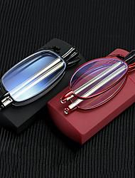cheap -Convenient Folding Mirror for The Elderly Male Anti-blue Glasses Telescopic Antenna Female Reading Glasses