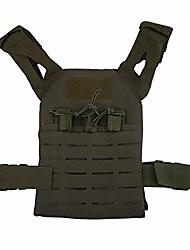 cheap -alomejor1 children combat vest, multifunctional outdoor hunting game molle vest paintball protective vest for children