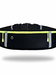 cheap -gorwrich running belt with waterproof adjustable elastic strap, sweatproof waistpacks with large capacity, perfect for running and outdoor activities