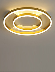 cheap -LED Ceiling Light Modern Nordic Gold Circle Round Design 50cm Flush Mount Lights Anodized Aluminum For Bedroom Living Room Dining Room 110-120V 220-240V