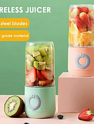 cheap -Portable Mixer Electric USB Blender Juicer Machine 500ml Mini Food Smoothie Processor Handheld Personal Fruit Squeezer Juicer