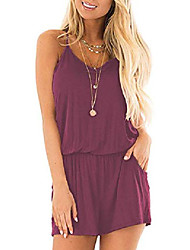 cheap -misfay ladies summer suit, loose v-neck, spaghetti straps, short - pink - xx-large
