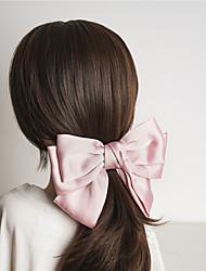 cheap -Kids Baby Girls' Three-State Japanese Eldest Lady Three-Layer Big Bow Hairpin Lolita The Same Spring Clip Hairpin Fabric Headdress