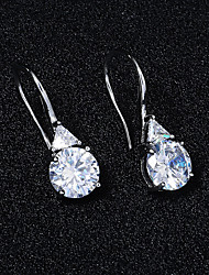 cheap -Women's Stud Earrings Drop Earrings Hoop Earrings Retro Drop Stylish Artistic Simple Vintage Sweet Imitation Diamond Earrings Jewelry Silver / Gold For Party Wedding Daily Holiday Festival 2pcs
