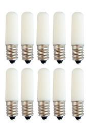 cheap -LED Globe Bulbs 10pcs 1.5 W 80 Lm E14 T22 2 LED Beads Integrate LED Decorative White Red Blue