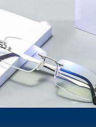 cheap -Reading Glasses Anti-blue Light Masonry Trimmed Reading Glasses High-end Half-frame Spring-leg Reading Glasses