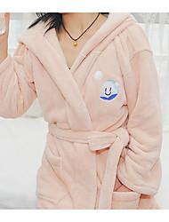 cheap -Superior Quality Bath Robe, Fashion 100% Coral Fleece Bathroom 1 pcs