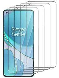 cheap -Phone Screen Protector For OnePlus OnePlus 9 OnePlus 8 Pro OnePlus 8 OnePlus 7T Oneplus 7 Tempered Glass 4 pcs High Definition (HD) Scratch Proof Front Screen Protector Phone Accessory