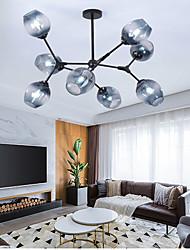 cheap -LED Pendant Light Glass Design Chandelier Modern 6/8 Heads Metal Nordic Style 110-120V 220-240V