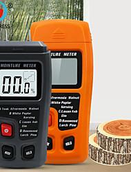 cheap -Wood Moisture Meter - Digital Moisture Detector Moisture Tester, Pin-Type Water Leak Detector Damp Tester for Wood Firewood Paper Floor