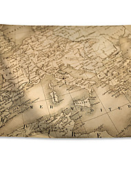 cheap -Wall Tapestry Art Decor Blanket Curtain Hanging Home Bedroom Living Room Decoration Polyester World Map
