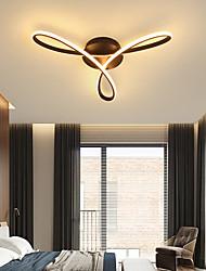 cheap -LED Ceiling Light Black Gold 60 cm Geometric Shapes Flush Mount Lights Aluminum Artistic Style Modern Style Stylish Painted Finishes Artistic 110-120V 220-240V