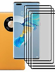 cheap -Phone Screen Protector For Huawei P40 P40 Pro P40 Pro+ Mate 40 Mate 40 Pro Tempered Glass 4 pcs High Definition (HD) Scratch Proof Front Screen Protector Phone Accessory