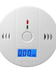 cheap -CO Sensor Detector Wireless CO Carbon Monoxide Poisoning Smoke Gas Sensor Warning Alarm Detector LCD Indicator