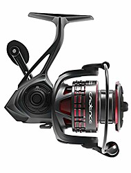 cheap -cadence stout saltwater spinning reel, smooth 7 + 1 sealed ball ball bearing system, anti-corrosion saltwater treatment, saltwater big game, powerful carbon fiber drag with 41 lbs drag (stout-3000)