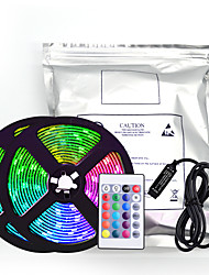 cheap -LED Strip Light 5050 LED Light with RGB Glue Dripping Waterproof USB 7 color TV Background Decorative Light Strip 24 Key Remote Control Set