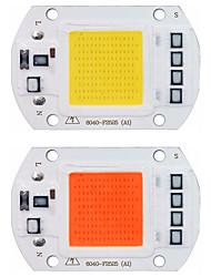 cheap -LED Grow Light COB Chip Phyto Lamp Full Spectrum White Warm White 110V 220V 20W 30W 50W  For Indoor Plant Seedling Grow and Flower Growth Lighting 1pc